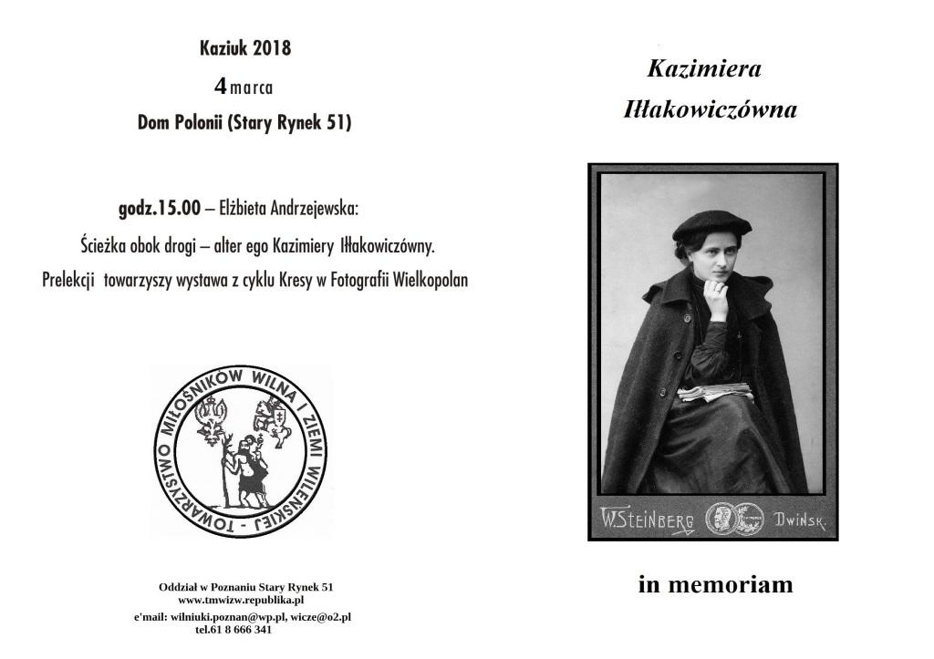 Kazimiera Iłłakowiczówna