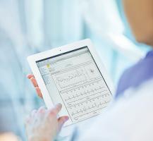 Dane na temat Twojego serca może przeczytać tylko Twój lekarz logując się na dedykowanej  temu stronie.