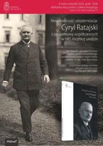 Biblioteka Raczyńskich Cyryl Ratajski
